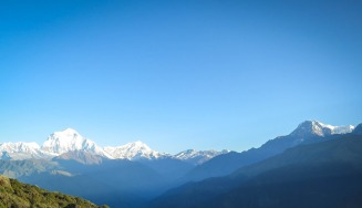 Nepal mountain range